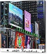 1540 Broadway Acrylic Print