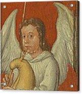 15th Century Angel Painting 6 Acrylic Print