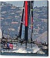 America's Cup San Francisco Acrylic Print by Steven Lapkin