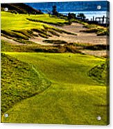 #16 At Chambers Bay Golf Course - Location Of The 2015 U.s. Open Tournament Acrylic Print