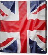 British Flag 23 Acrylic Print