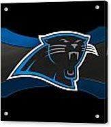 Carolina Panthers Acrylic Print