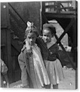 Chicago Children, 1941 Acrylic Print