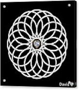 16 Circles Acrylic Print
