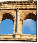 Colosseum In Rome Acrylic Print