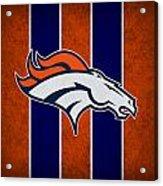 Denver Broncos Acrylic Print by Joe Hamilton