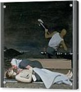 16. Jesus Is Buried / From The Passion Of Christ - A Gay Vision Acrylic Print