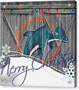 Miami Dolphins Acrylic Print
