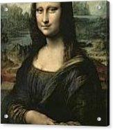 Mona Lisa Acrylic Print