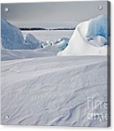 Pack Ice, Antarctica Acrylic Print