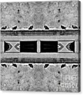 16 Pigeons On A Pharaoh's Tomb Acrylic Print