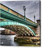 Southwark Bridge London Acrylic Print