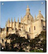 Spain, Castilla Y Leon Region, Segovia Acrylic Print