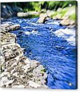 The Stream In Mountain Acrylic Print
