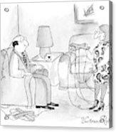 New Yorker May 18th, 2009 Acrylic Print