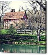 1600's English Home Acrylic Print