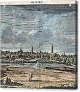 1698 De Bruijin View Of Rama Israel Palestine Holy Land Acrylic Print