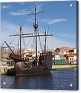 16th Century Ship Acrylic Print