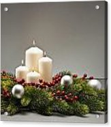 Advent Wreath Acrylic Print