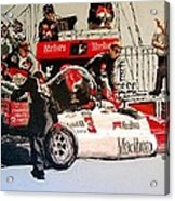 Automobile Racing Acrylic Print