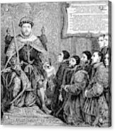 Henry Viii (1491-1547) Acrylic Print