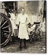 Hine Home Industry, 1912 Acrylic Print