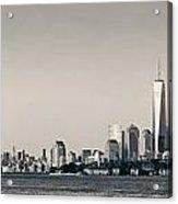Manhattan Downtown Skyline Acrylic Print