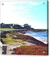 17 Mile Drive Shore Line II Acrylic Print