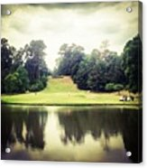 #17 The Bluffs #golf #iphone5 Acrylic Print