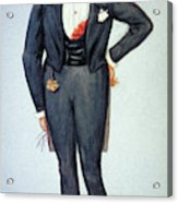 Oscar Wilde (1854-1900) Acrylic Print