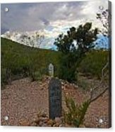 1800s Nothing Was Politically Correct Acrylic Print