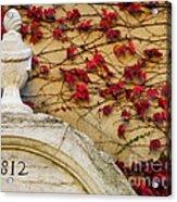1812 Fountain Acrylic Print