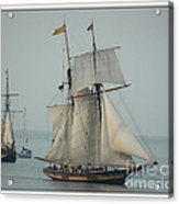 1812 Pride Of Baltimore II Acrylic Print by Marcia L Jones
