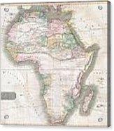 1813 Thomson Map Of Africa Acrylic Print