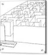 New Yorker July 10th, 2000 Acrylic Print