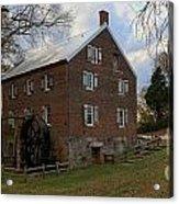 1823 North Carolina Grist Mill Acrylic Print