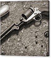 1851 Navy Revolver 36 Caliber - 2 Acrylic Print