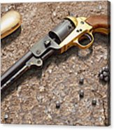 1851 Navy Revolver 36 Caliber Acrylic Print by Mike McGlothlen