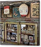 1860's Chinese Mercantile Shop - Montana Acrylic Print