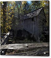 1868 Cable Mill At Cades Cove Tennessee Acrylic Print
