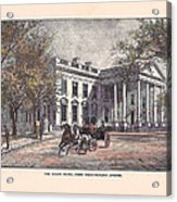 1870's White House Acrylic Print