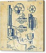 1875 Colt Peacemaker Revolver Patent Vintage Acrylic Print
