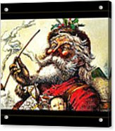 1881 Santa Acrylic Print