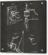 1881 Taylor Camera Obscura Patent Gray Acrylic Print