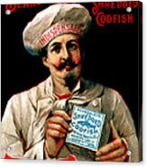 1895 Shredded Codfish Breakfast Acrylic Print