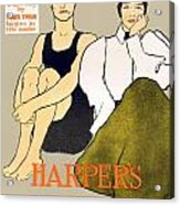1897 - Harpers Magazine Poster - Color Acrylic Print