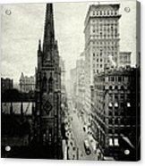 1898 Broadway New York City Acrylic Print