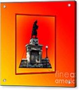 1898 Firemen Memorial Acrylic Print