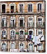 18th Century Building In Lisbon Acrylic Print