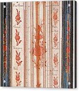 18th Century Thermometer-barometer Acrylic Print